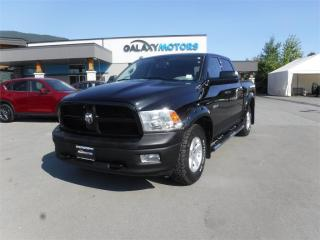 Used 2010 Dodge Ram 1500 TRX-CREW CAB 5.7L V8 HEMI SHORT BOX - 4X4 for sale in Duncan, BC