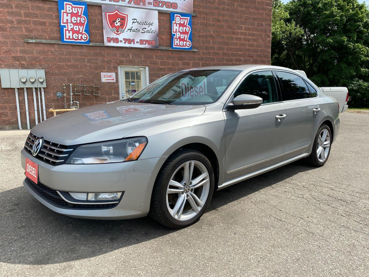 used 2012 volkswagen passat 2.0 tdi dsg highline diesel one owner no accident for sale in cambridge, ontario carpages.ca