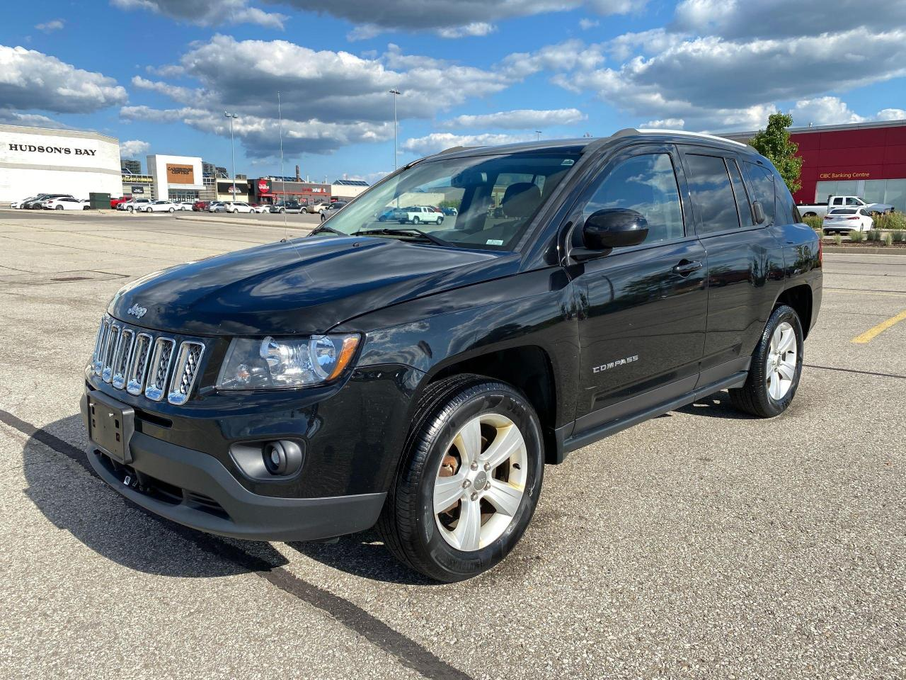used 2015 jeep compass north 2.4l no accident safety warranty included for sale in cambridge, ontario carpages.ca