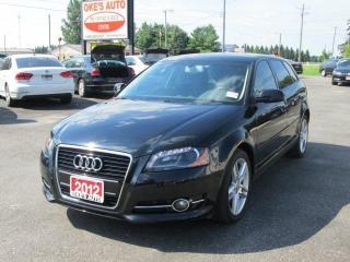 Used 2012 Audi A3 Progressive for sale in Alvinston, ON