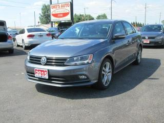 Used 2015 Volkswagen Jetta TDI HIGHLINE 6A for sale in Alvinston, ON