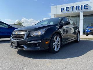 Used 2016 Chevrolet Cruze LTZ - HEATED LEATHER, NAV, MOON ROOF for sale in Kingston, ON