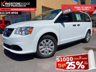 New 2020 Dodge Grand Caravan Canada Value Package | Power Locks & Windows | Eas for sale in Kingston, ON