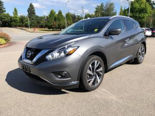 Used 2017 Nissan Murano AWD 4DR PLATINUM for sale in Surrey, BC