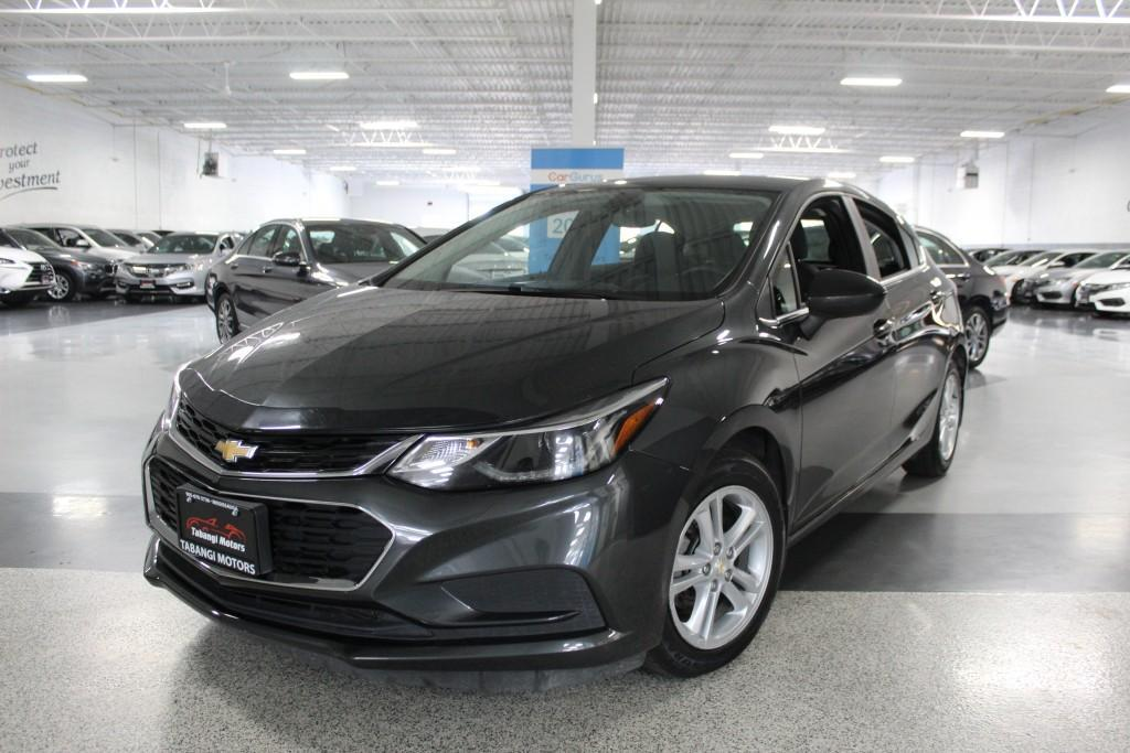 used 2017 chevrolet cruze lt no accidents i rear cam i heated seats i keyless entry for sale in mississauga, ontario carpages.ca