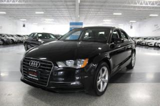 Used 2016 Audi A3 NO ACCIDENTS I SUNROOF I LEATHER I HEATED SEATS I BT for sale in Mississauga, ON
