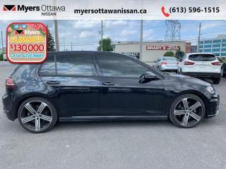 Used 2016 Volkswagen Golf R DSG  - Navigation -  Leather Seats - $176 B/W for sale in Ottawa, ON