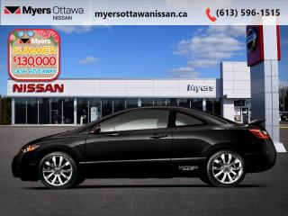 Used 2010 Honda Civic COUPE SI  - Sunroof -  A/C - $98 B/W for sale in Ottawa, ON