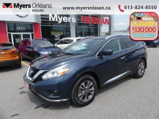 Used 2016 Nissan Murano SL  - Sunroof -  Navigation - $186 B/W for sale in Orleans, ON