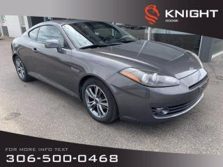 Used 2007 Hyundai Tiburon GS for sale in Swift Current, SK
