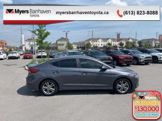 Used 2017 Hyundai Elantra GL  - $81 B/W for sale in Ottawa, ON