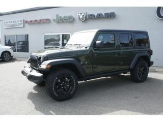 New 2020 Jeep Wrangler Willy's Unld | Sarge Green | Trailer Tow | Alpine for sale in Medicine Hat, AB