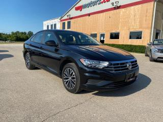 Used 2019 Volkswagen Jetta HIGHLINE with leather interior for sale in Tillsonburg, ON