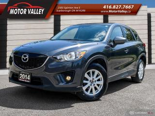 Used 2014 Mazda CX-5 GS GS-SKY SUNROOF - B.UP CAM MINT! for sale in Scarborough, ON