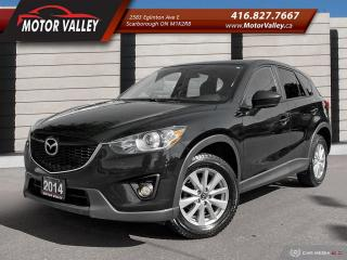 Used 2014 Mazda CX-5 GS-SKY SUNROOF - B.UP CAM No Accident! for sale in Scarborough, ON