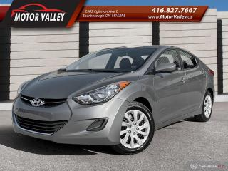 Used 2012 Hyundai Elantra GL ONLY 074,623KM CLEAN CAR! for sale in Scarborough, ON