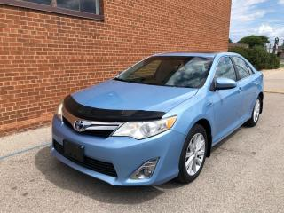 Used 2012 Toyota Camry XLE-hybrid-NAVI-BACKUP CAM-SUNROOF for sale in Oakville, ON