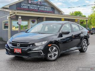 Used 2019 Honda Civic LX,ECON,R/V CAM,B.TOOTH,HEATED SEATS for sale in Orillia, ON