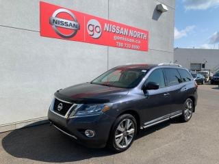 Used 2014 Nissan Pathfinder Platinum 4dr 4WD Sport Utility for sale in Edmonton, AB