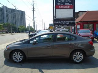Used 2012 Honda Civic EX/ SHOW ROOM CONDITION/ SUNROOF / MINT /CERTIFIED for sale in Scarborough, ON