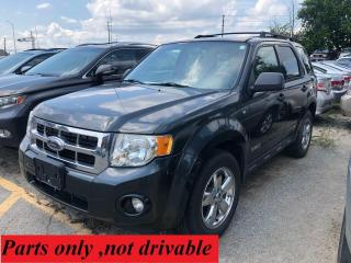 Used 2008 Ford Escape XLT/ PARTS  ONLY for sale in Oakville, ON
