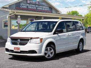 Used 2012 Dodge Grand Caravan SXT,R/V CAM,B.TOOTH,STOW-N-GO for sale in Orillia, ON
