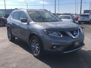 Used 2015 Nissan Rogue SL*AWD*PANO ROOF*LEATHER*NAV*LOADED for sale in London, ON
