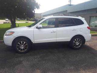 Used 2008 Hyundai Santa Fe Limited 5-Pass for sale in Waterloo, ON