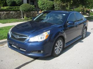 Used 2010 Subaru Legacy 3.6L, LTD, AWD, CERTIFIED, NAVI, BCK CAMERA for sale in Toronto, ON