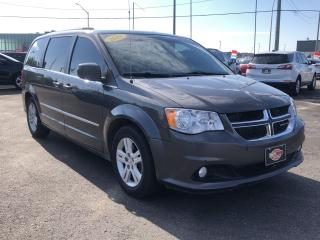 Used 2015 Dodge Grand Caravan Crew+*SUNROOF*LEATHER*BACKUP CAM for sale in London, ON