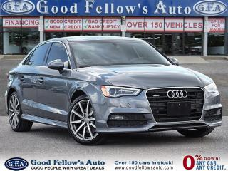 Used 2016 Audi A3 S LINE, LEATHER, QUATTRO, SUNROOF, REARVIEW CAMERA for sale in Toronto, ON