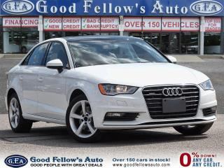 Used 2016 Audi A3 QUATTRO, SUNROOF,  LEATHER SEATS, POWER SEATS for sale in Toronto, ON
