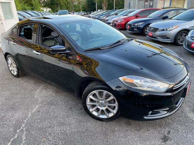 2013 Dodge Dart LIMITED/ NAVI/ CAM/ LEATHER/ SUNROOF/ ALLOYS ++