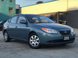 Used 2009 Hyundai Elantra Manual GL|Accident free|One Owner|Certified|Low Mi for sale in Burlington, ON