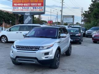 Used 2013 Land Rover Range Rover Evoque Pure Premium for sale in Toronto, ON