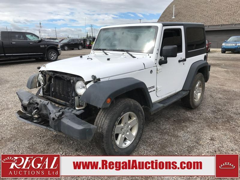 used 2013 jeep wrangler sport 2d utility 4wd 3.6l for sale in calgary, alberta carpages.ca