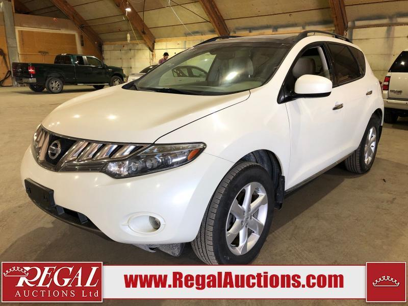 used 2009 nissan murano sl 4d utilty awd for sale in calgary, alberta carpages.ca