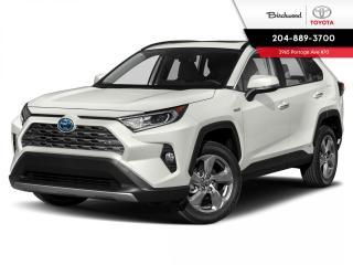 New 2020 Toyota RAV4 Hybrid Limited STD PKG W/PREMIUM PAINT for sale in Winnipeg, MB