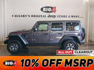 New 2020 Jeep Wrangler Unlimited Rubicon 4WD for sale in Calgary, AB