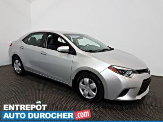 Used 2014 Toyota Corolla AIR CLIMATISÉ - Groupe Électrique for sale in Laval, QC