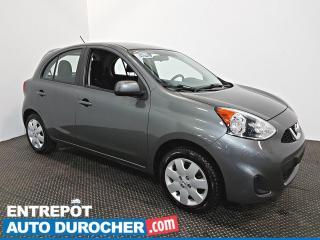 Used 2016 Nissan Micra SV AIR CLIMATISÉ - Groupe Électrique for sale in Laval, QC