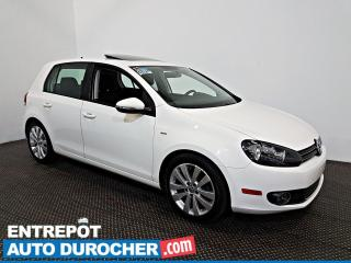 Used 2013 Volkswagen Golf WOLFBURG TOIT OUVRANT - A/C - Sièges Chauffants for sale in Laval, QC