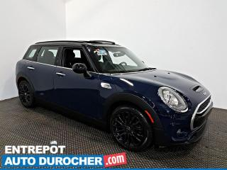 Used 2016 MINI Cooper Clubman S TOIT OUVRANT - A/C - Sièges Chauffants - Cuir for sale in Laval, QC