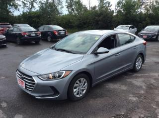 Used 2017 Hyundai Elantra LE - AUTO - A/C - BLUETOOTH! for sale in Ottawa, ON