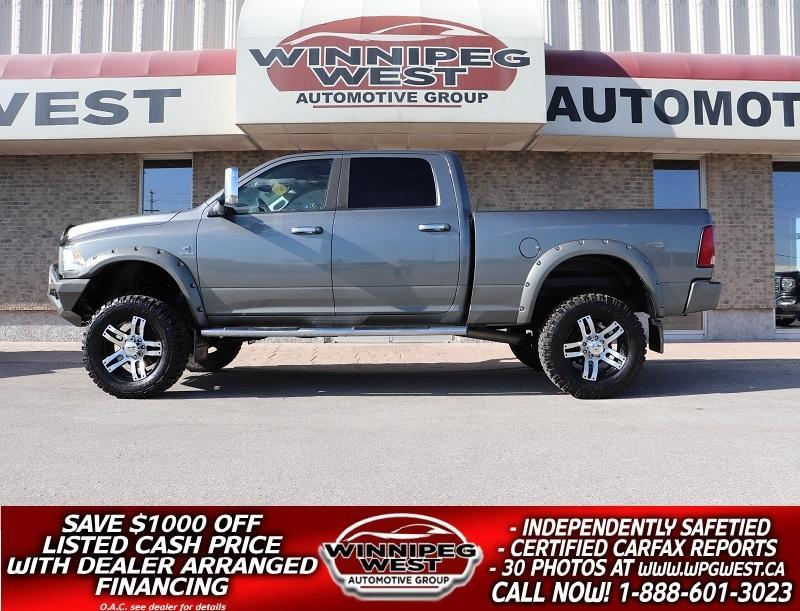 used 2012 dodge ram 3500 laramie longhorn limited lifted cummins 4x4 for sale in headingley, manitoba carpages.ca