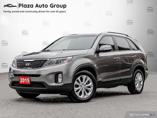Used 2015 Kia Sorento EX | V6 | LEATHER | 7 DAY EXCHANGE for sale in Richmond Hill, ON