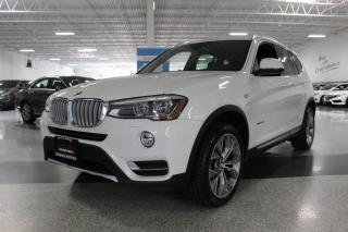 Used 2016 BMW X3 xDRIVE28i NO ACCIDENTS I NAVIGATION I PANOROOF I REAR CAM for sale in Mississauga, ON