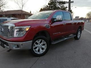 Used 2016 Nissan Titan 4WD CREW CAB| LEATHER | XD for sale in Toronto, ON