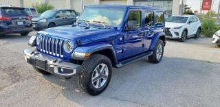Used 2019 Jeep Wrangler Unlimited Sahara 4X4 for sale in North York, ON