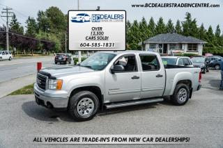 Used 2011 GMC Sierra 1500 SLE 4X4 Crew Cab, Local, No Declarations, Tow Pack, Power Gr for sale in Surrey, BC